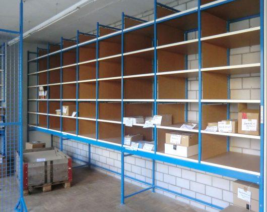 Fachbodenregal-Sonderkonstruktion