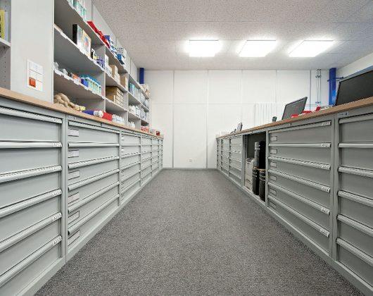 Schubladenschränke Werkbank
