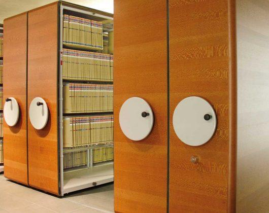 Archivregale für Hängemappen