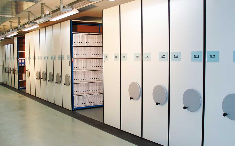 Verschieberegal Archivregal