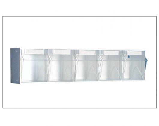 Kunststoffspender für Pflegewagen