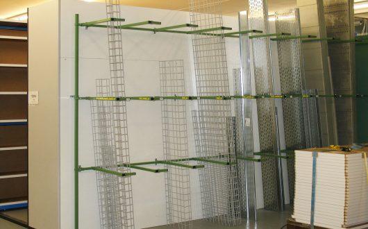 Vertikallösung für Kabelkanäle Sonderlösungen
