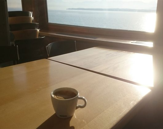 Kaffee-an-Board